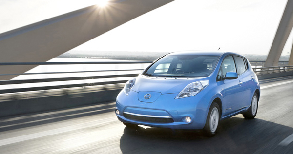 The Zero-Emission Nissan LEAF