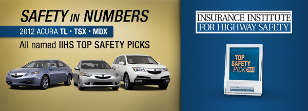 Acura Safety Picks