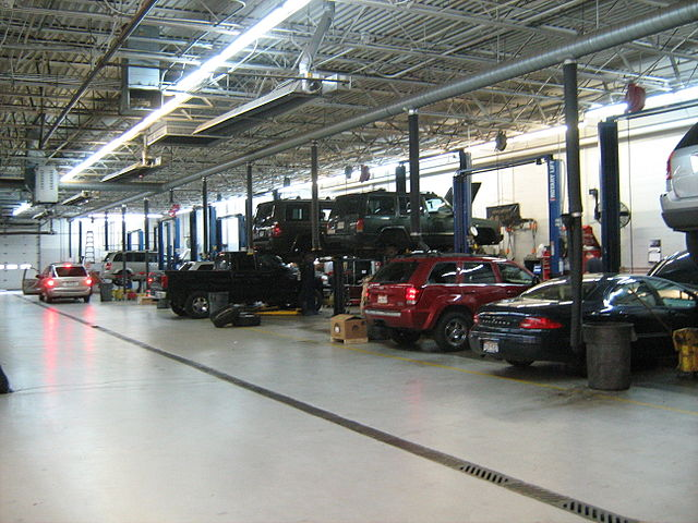 Dealership Service Center