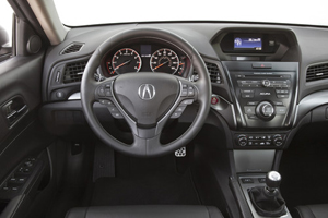 2014 Acura ILX steering wheel