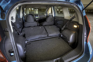 Nissan Versa Note Divide-n-Hide