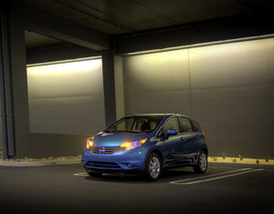 Nissan Versa Note easy parking
