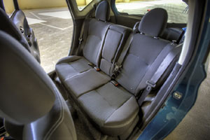 Nissan Versa Note seating