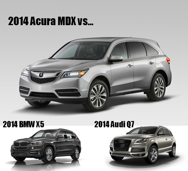 The 2014 Acura MDX Vs. The Competition