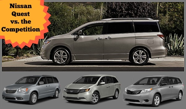 Nissan Quest and Competition