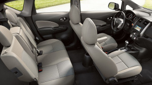 Nissan Note interior space
