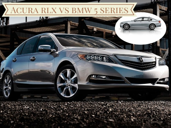 Acura RLX vs BMW