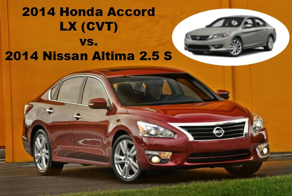 nissan altima comparison