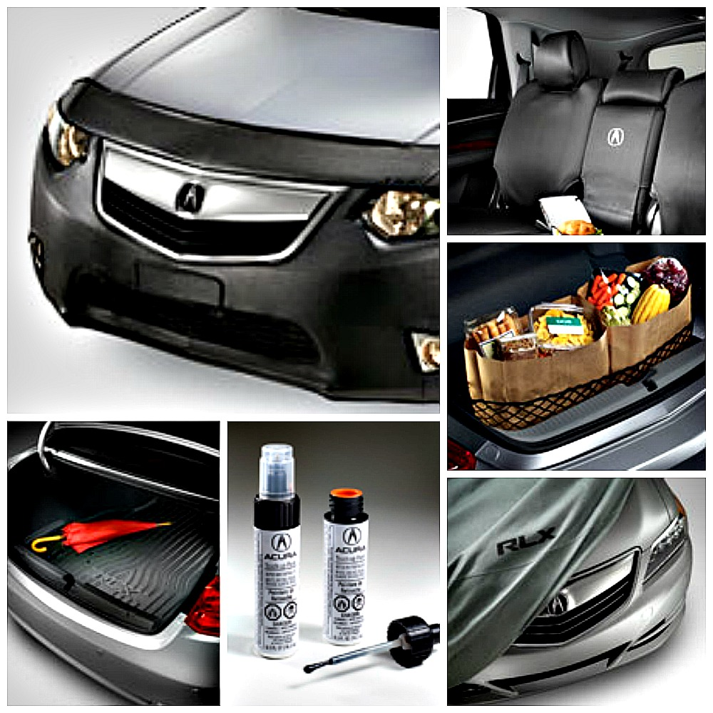 acura accessories collage