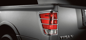 chrome taillight guard