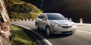 acura mdx fuel efficient SUV