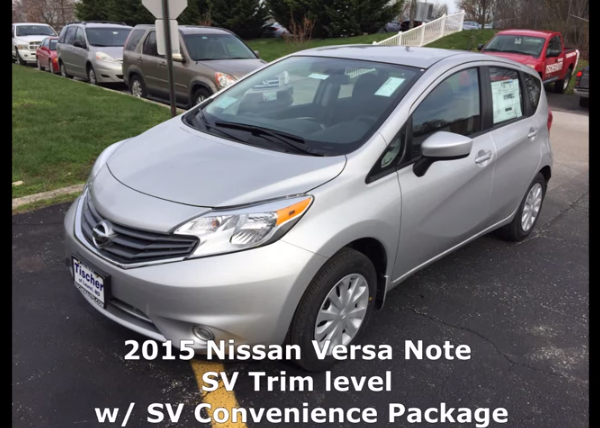 2015 Nissan Versa Note SV Video Review