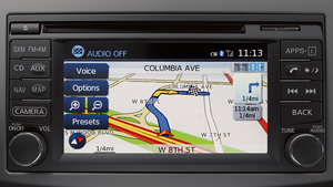 Versa Note NissanConnect mobile apps